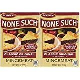 Borden None Such Condensed Mincemeat, Apples & Raisins, 9 OZ Box (Pack of 2)
