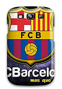 New Premium Galaxy Case Cover For Galaxy S3 Barcelona Fc Protective Case Cover