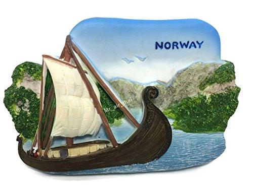 Viking Ship, NORWAY SOUVENIR RESIN 3D FRIDGE MAGNET SOUVENIR TOURIST GIFT 037 by Mr_air_thai_Magnet_World