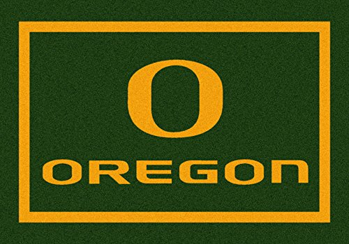 NCAA Team Spirit Door Mat - Oregon Ducks, 44'' x 68'', Multi by Millilken