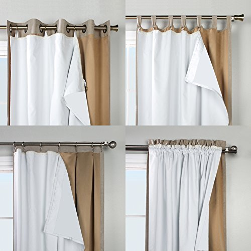 Thermaplus Superior Liner Blackout Curtain Lining, by Commonwealth Home Fashions (45