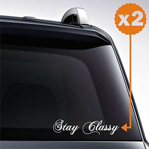 2x stay classy low japs stance large (10 inch : width) jdm dtm decal euro sticker racing decal drift turbo
