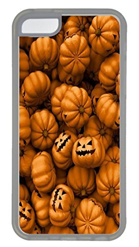 iPhone 5C Case and Cover VUTTOO Halloween Mobile Wallpaper 4 PC case Cover for iPhone 5C ¨C (Halloween Wallpapers For Iphone 4)