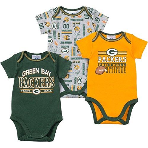 Green Packers Infant Bodysuit Creeper