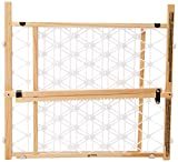 Safety 1st Presuure Mount Wood Security Gate, Maple and White, fits Space between 28″ and 41″ Wide Review
