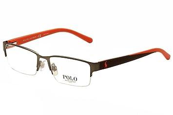 f9a2944007 POLO PH 1152 Eyeglasses 9287 Matte Gunmetal 56-17-140  Amazon.co.uk ...