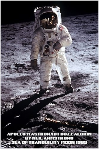 Amazon.com: 1969 Apollo 11 Astronaut BUZZ ALDRIN photo By Neil ...