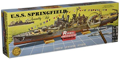 - Revell U.S.S. Springfield Plastic Model Kit