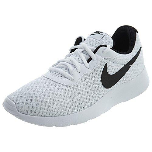 Nike Men's Tanjun Running Sneaker White/Black 8.5