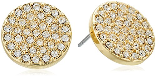 vera-bradley-pave-disc-gold-tone-with-clear-stud-earrings