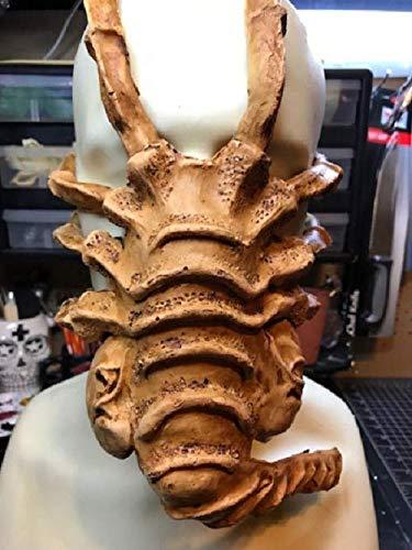Alien Face Hugger Xenomorph Latex Mask Cos Play cosplay costume ()