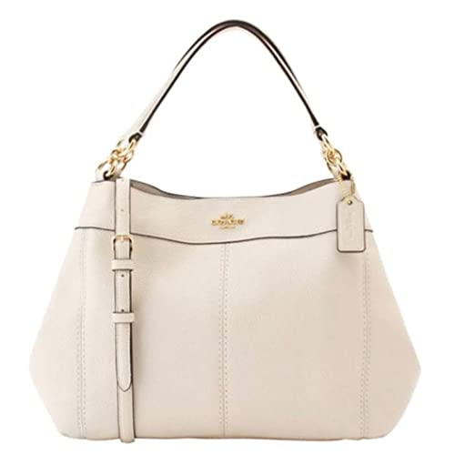 cd892f336ccd Coach Women's Small Lexy Shoulder Bag in Refined Pebble Leather ...