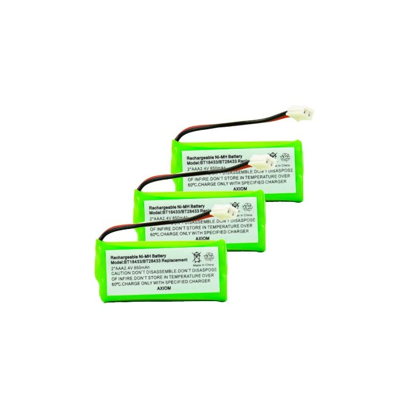 Axiom 3Pack Rechargeable Battery For VTe