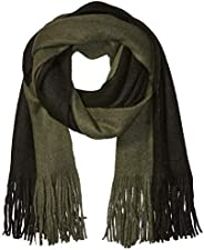 Steve Madden mens Colorblock Scarf Cold Weather Scarf