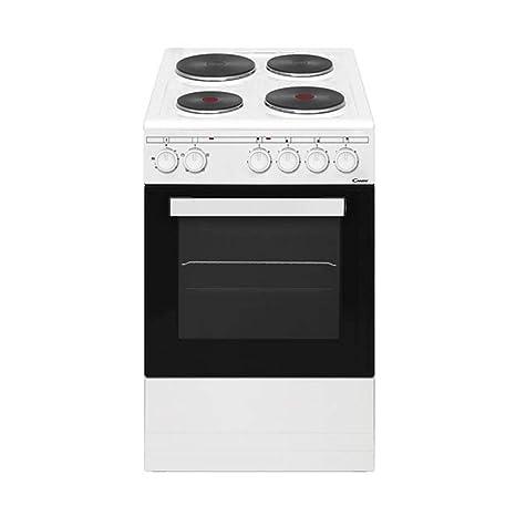 Candy CEE550FW - Cocina eléctrica con horno y 4 placas ...