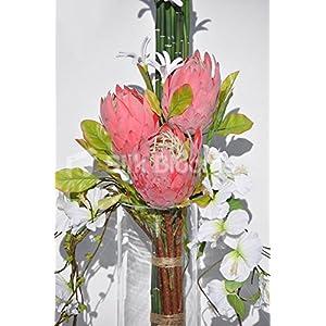 big artificial flower arrangements