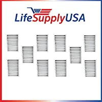 10 pack HEPA Filter fits Hunter 30963 for Air Purifier 30710, 30711, 30716, 30717 & 30730 by LifeSupplyUSA