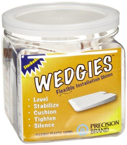 Vinyl Wedge White Width Length