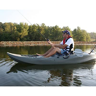 90121 Lifetime 10 Foot Sport Fisher Tandem Kayak