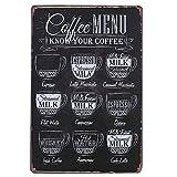 Fenta Pub Bar Wall Decoration Metal Tin Sign Poster Plaque Coffee Menu