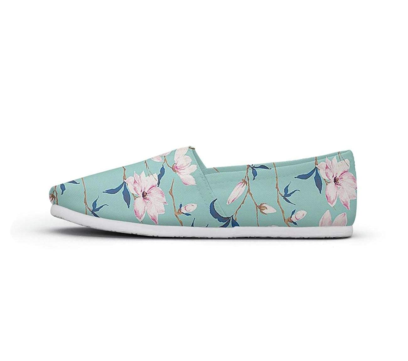 nkfbx Watercolor Red Heads Crane /& Cherry Flowers Classic Flat Trainers for Girls Exercise
