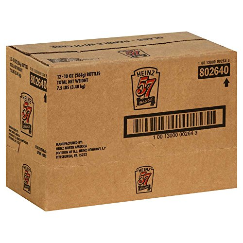 Heinz 57 Steak Sauce (132640) 10 oz (Pack of (Heinz 57 Steak)