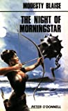 Front cover for the book The Night of Morningstar by Peter O'Donnell