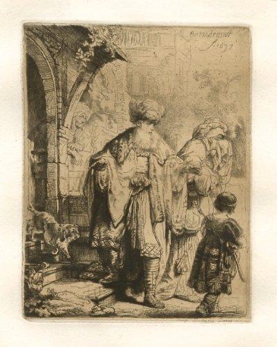 Print Rembrandt Art Fine - Rembrandt van Rijn (after)