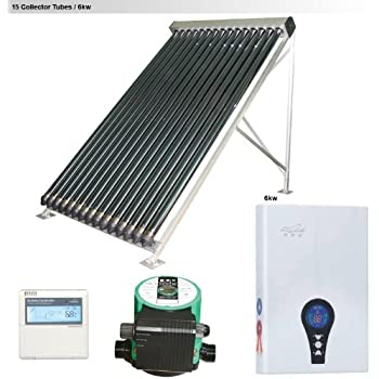 Amazon Com Duda Solar 30 Tube Water Heater Collector 37