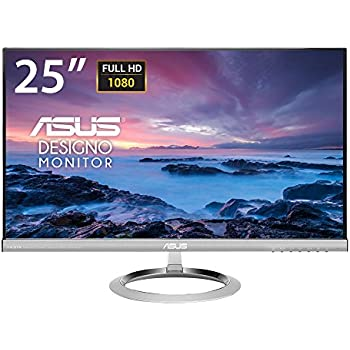 ASUS MX259H 25-Inch, Full HD 1920x1080 IPS, Audio by Bang & Olufsen ICEpower HDMI VGA Frameless Monitor