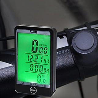 elegantstunning Multifonction Vélo Odomètre sans Fil Wired Ordinateur de vélo Vélo Compteur de Vitesse