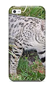 New Style 7144866K31675290 durable Protection Case Cover For Iphone 5c(savannah Cats)