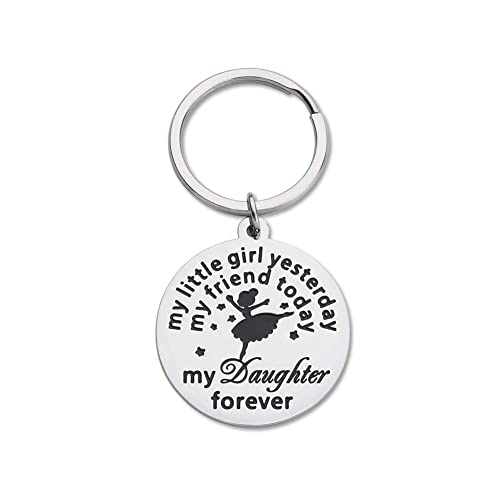 Daughter Keychain Birthday Gifts From Mom Dad To Daughter Gifts