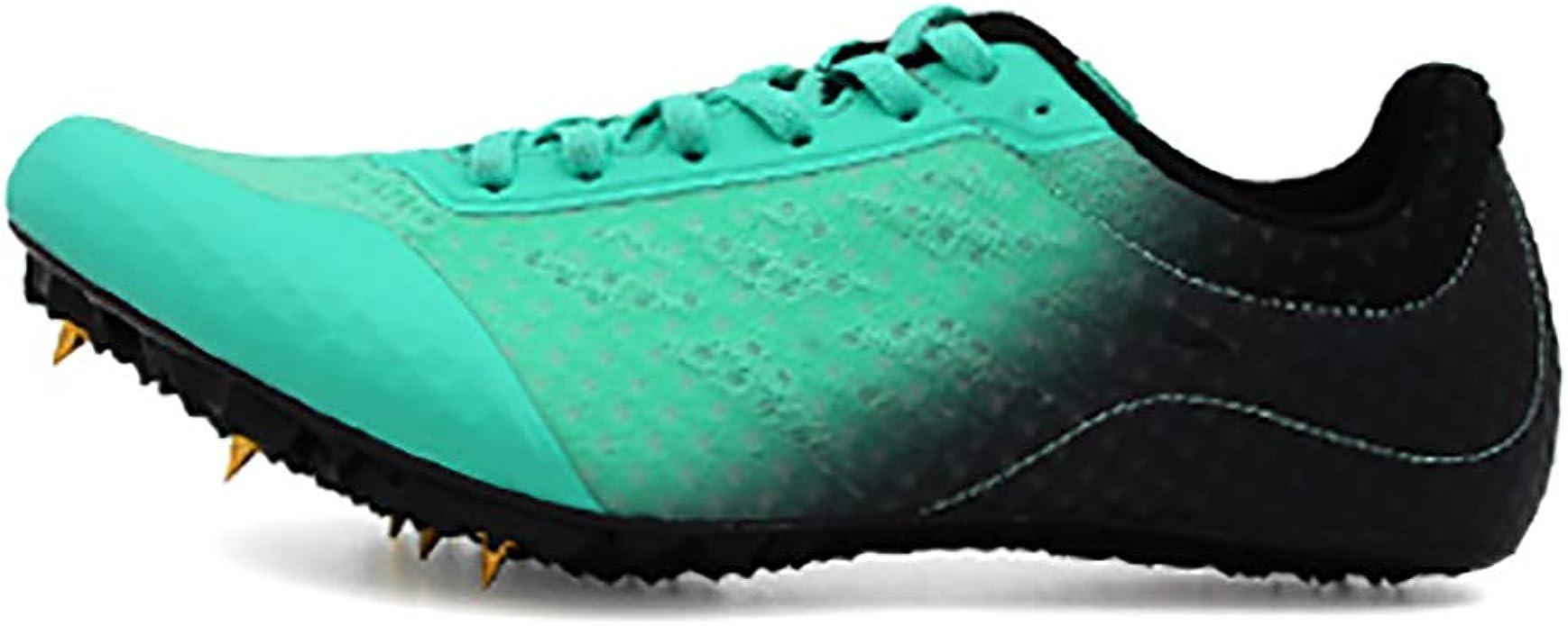 ZLYZS Zapatillas De Atletismo Spike, Zapatillas De Picos De Running para Hombre Zapatillas De Deporte De Entrenamiento Profesional para Uñas: Amazon.es: Zapatos y complementos