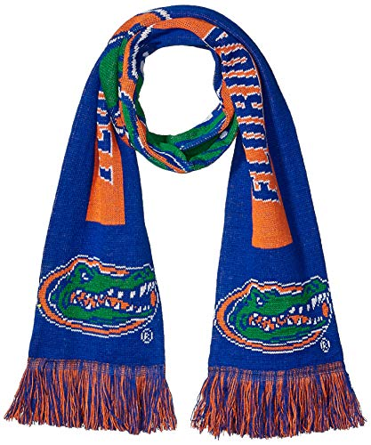 NCAA Florida Gators - 2016 Big Logo Scarf, One Size, Team Colors - Florida Gators 0.25' Gator