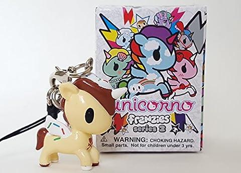 Tokidoki Unicorno Unicorn Frenzies Series 2 Phone Charm - Cornetto - Tokidoki Frenzies Series