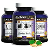 L-Arginine L-Citruline Extra Strength - Over 2,500 mg Value - (Pack of 3 Savings) - Nitric Oxide Booster - Plus Patented AstraGin for even Greater Absorption - By Doctors Nutra