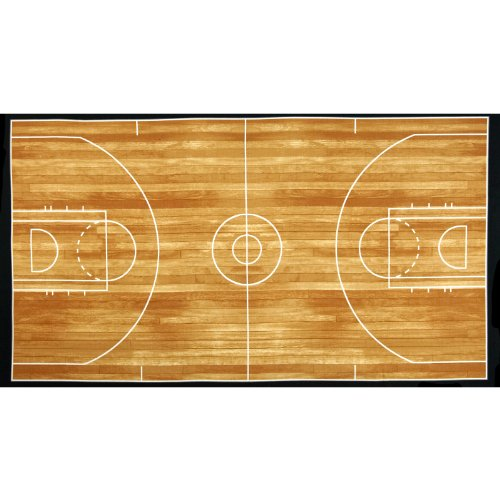kaufman-sports-life-basketball-court-brown-24-in-panel-fabric-by-the-yard