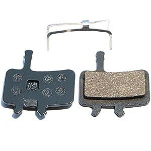 Resin Organic Semi metal Brake Pads for AVID BB7 Juicy 3 5 7, Smooth Braking,Low Noise, Long Life, Kevlar, Copper
