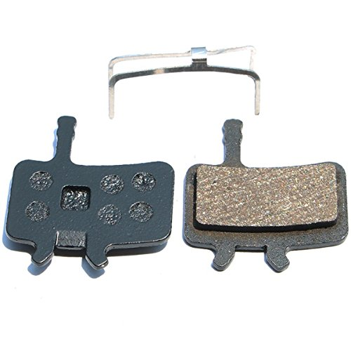 (Resin Organic Semi-metal Brake Pads for AVID BB7 Juicy 3 5 7, Smooth Braking,Low Noise, Long Life, Kevlar, Copper)