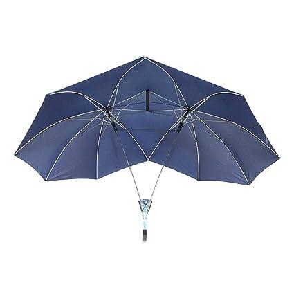 Jerome10Dan Paraguas para Dos Personas, Cool Doble Tamaño Alto Paraguas Doble Superior Paraguas Doble Paraguas