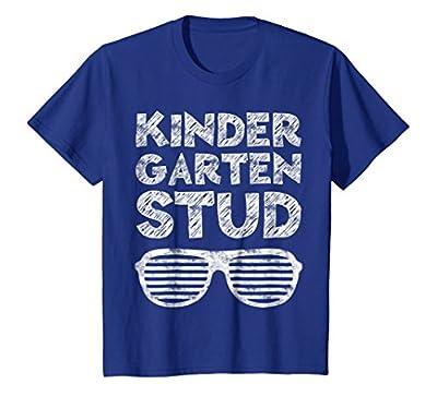 Kids Kindergarten Stud T-Shirt Funny Back To School Gift