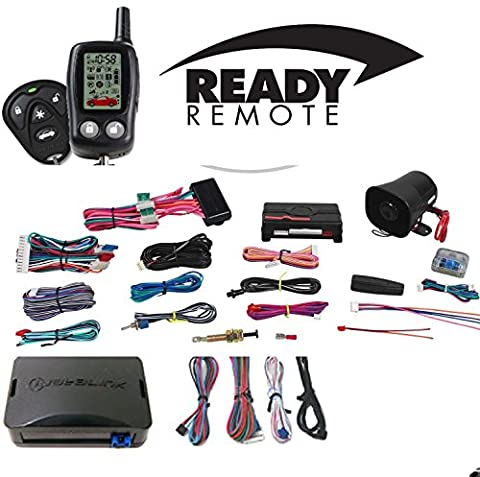 Deluxe 2-Way Remote Start Security System For Select Toyota 1998-2015 (Remote Starter For Rav4)