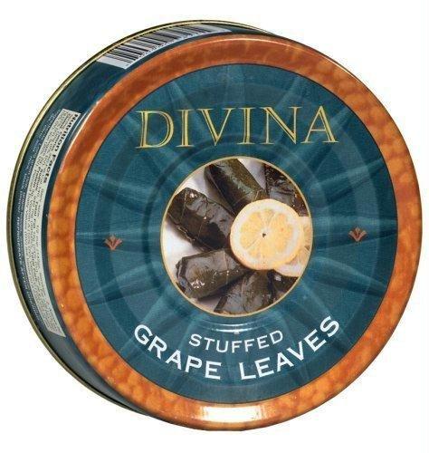 Divina Dolmas Stuffed Grape Leaves, 7 (Leaf Relish)