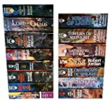 The Wheel of Time, 15 Book Set: New Spring, Eye the World, Great Hunt, Dragon Reborn, Shadow Rising, Fires Heaven, Lord Chaos, Crown Swords, Path Daggers, Winter's Heart, Crossroads Twilight, Knife Dreams, Gathering Storm, Towers Midnight, Memory Light