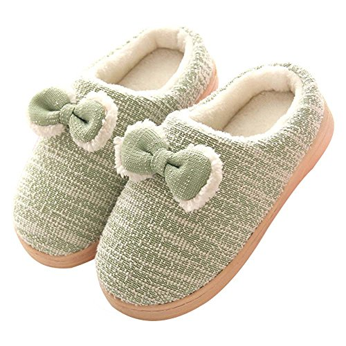 Eastlion Women's & Children's Lovely Winter Keep Warm Anti-Skid Plush Home Indoor Shoes,Sippers Color 15