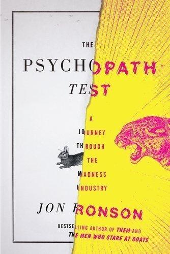 Jon Ronson Psychopath Journey Industry product image