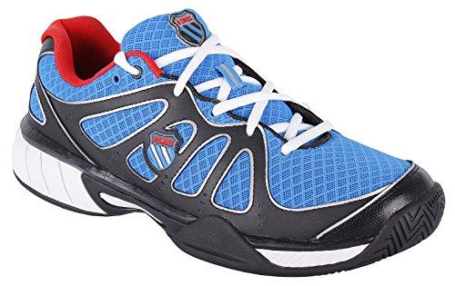 K-Swiss Express 100 Mesh Zapatillas, Hombre negro / azul / rojo