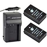 DSTE® 2x EN-EL20 Battery + DC125 Travel and Car Charger Adapter for Nikon Coolpix A 1 J1 J2 J3 AW1 S1 V3 Camera as EN-EL20A