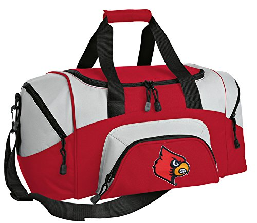 SMALL Louisville Cardinals Travel Bag University of Louisville Gym Bag (Louisville Bag Cardinals Duffle)